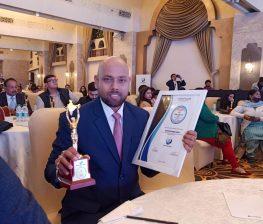 BEST JYOTISH AWARD TO ASTROLOGER SAHU JI