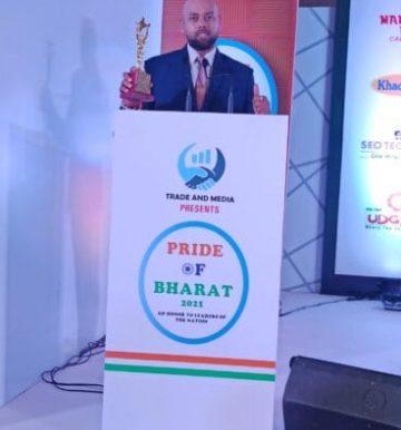 pride of bharat awart for best astrologer in india