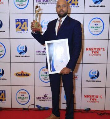 pride of bharat awart for best astrologer in india 2